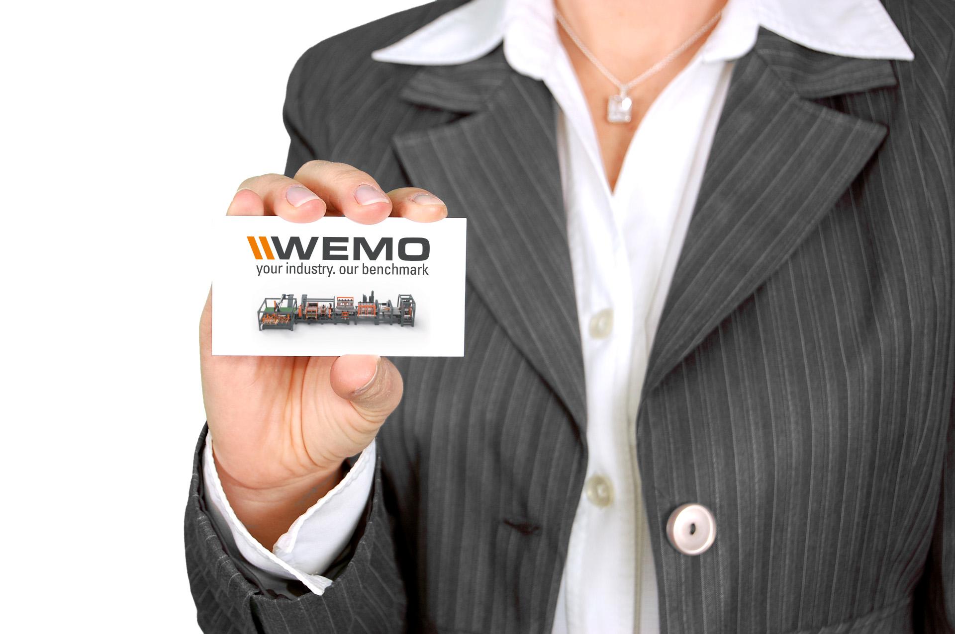 Kontaktieren Sie uns jetzt und entdecken Sie unsere Engineering und Maschinenteile. WEMO-Maschinen für verschiedene Industrien.