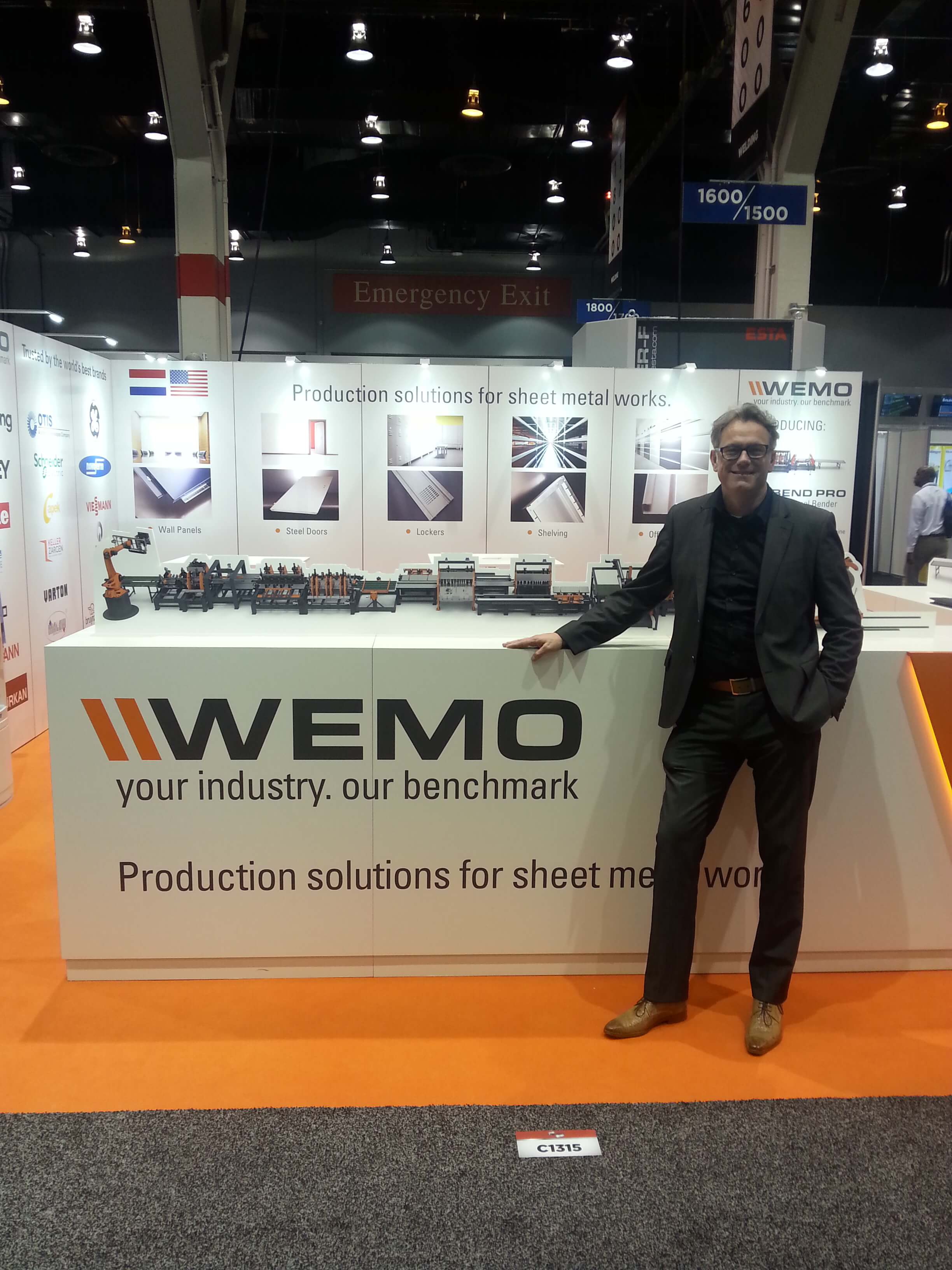 WEMO at the Fabtech 2015 in Chicago