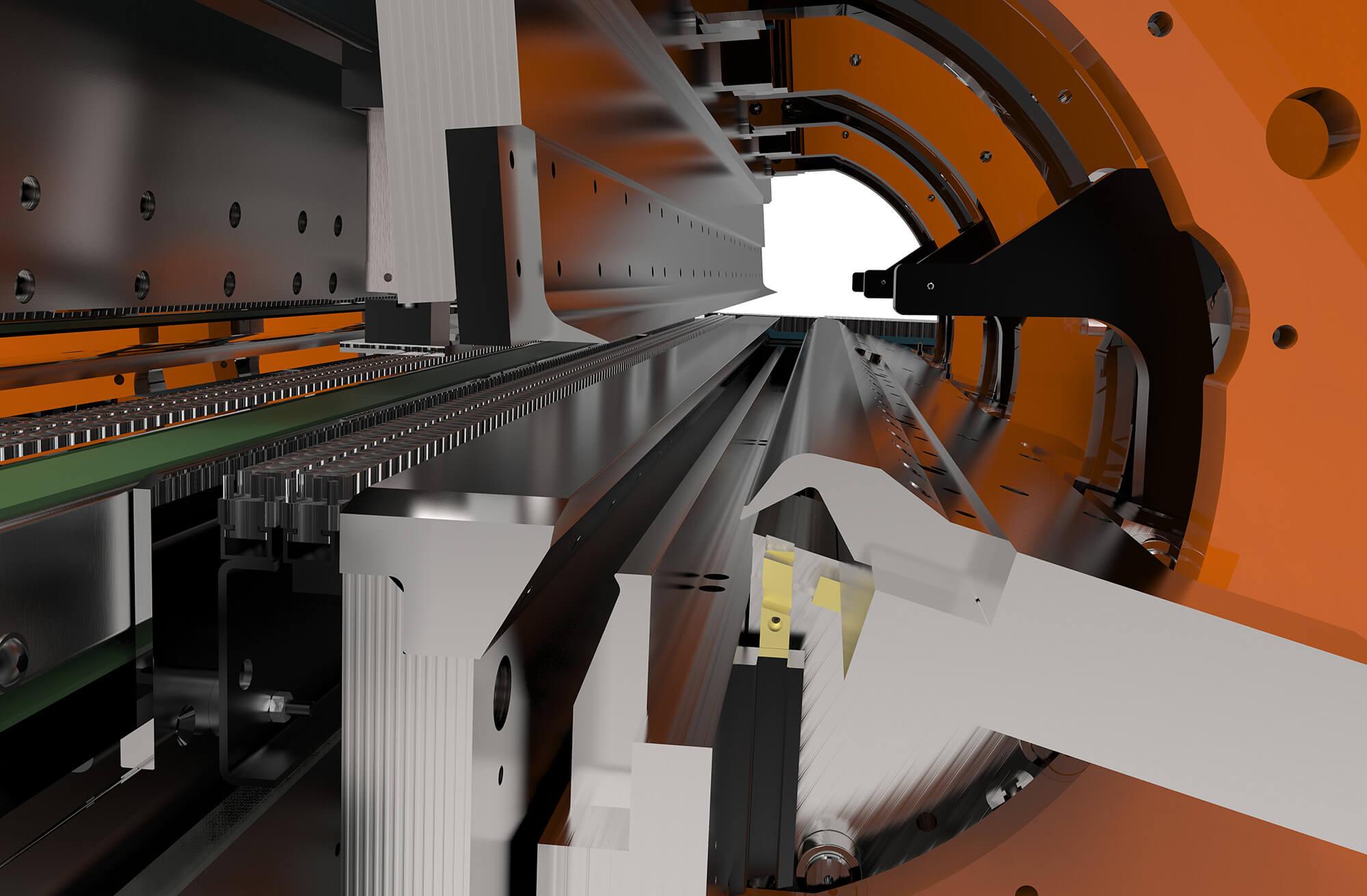 WEMO bending technique Swivel bending