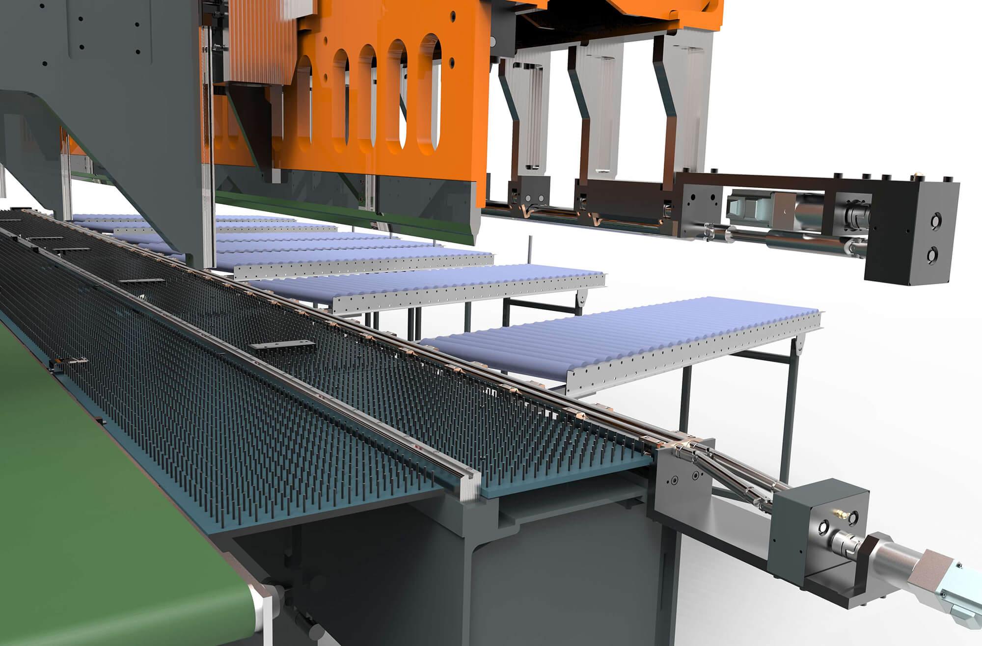 Complete WEMO productielijn voor het produceren van Rolluikkappen