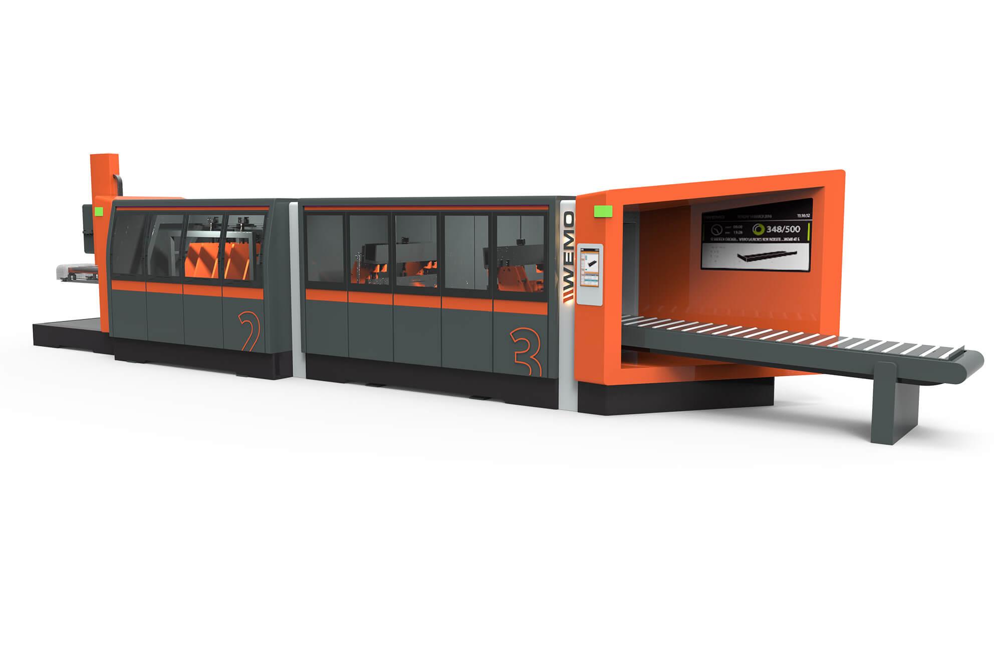 Nieuw WEMO machine design