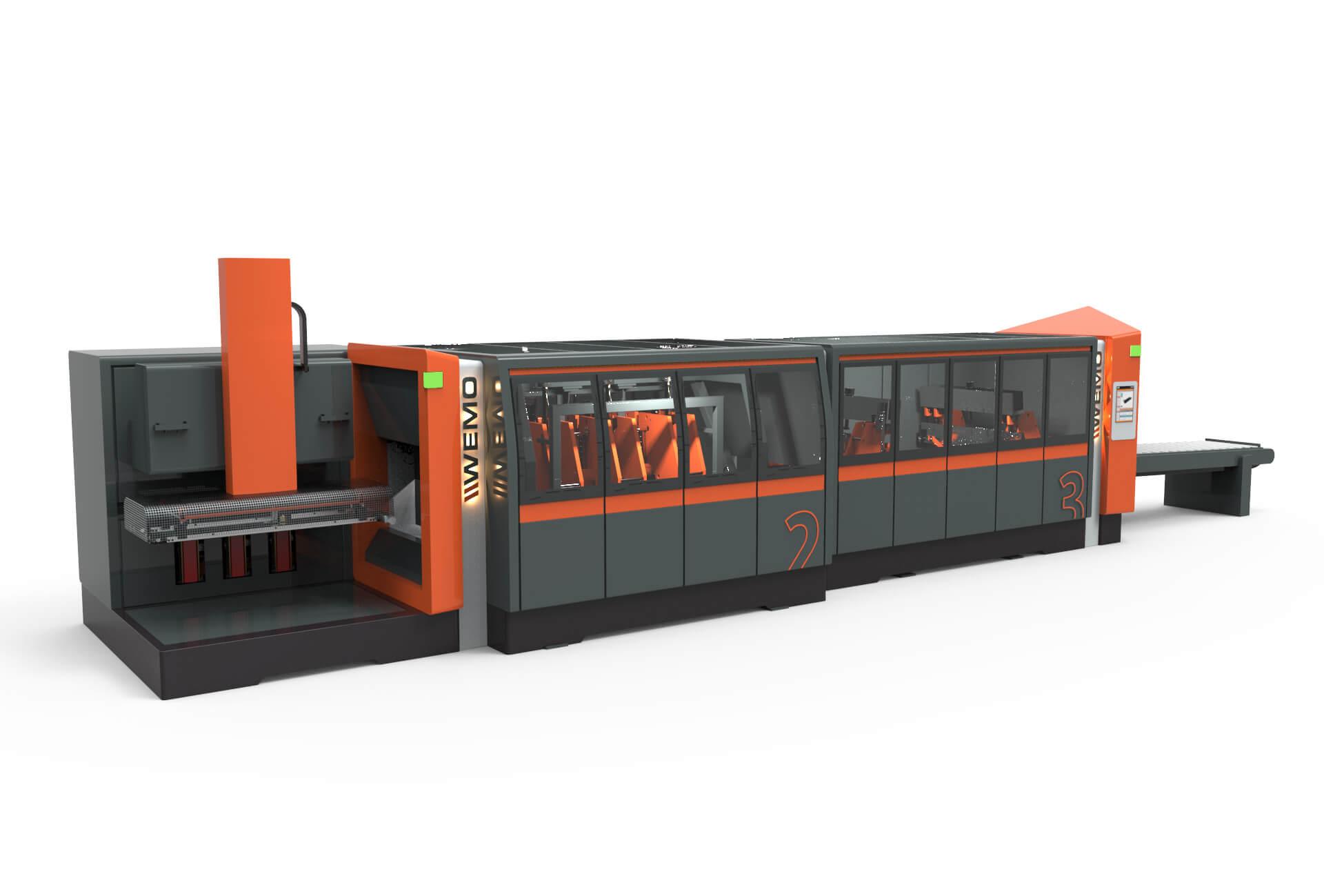 WEMO nieuwe machine design foto lancering