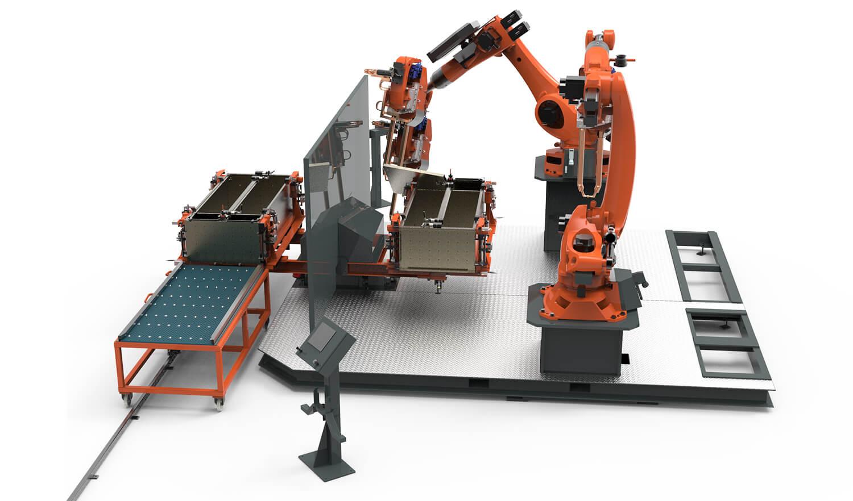 WEMO Machines gerobotiseerd puntlassen