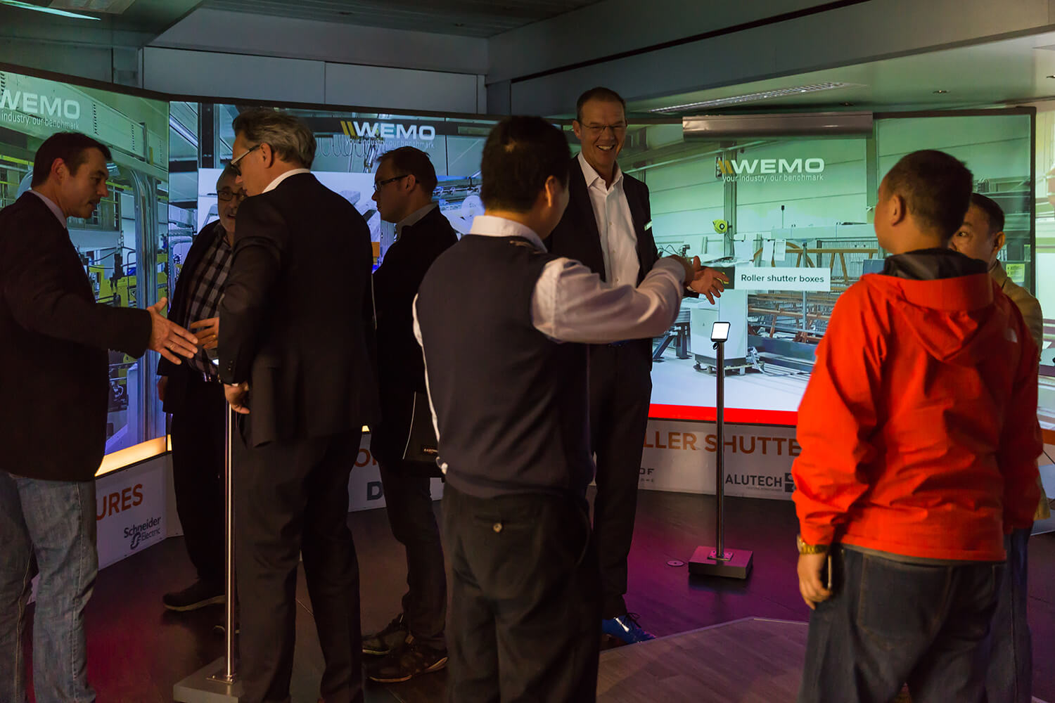WEMO machines Mobile Experience Centre at Euroblech 2016