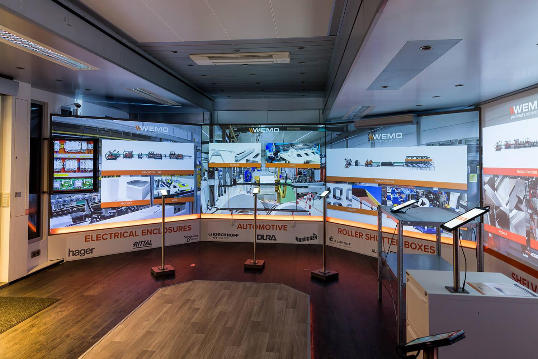 WEMO maschinen Mobile Experience Center