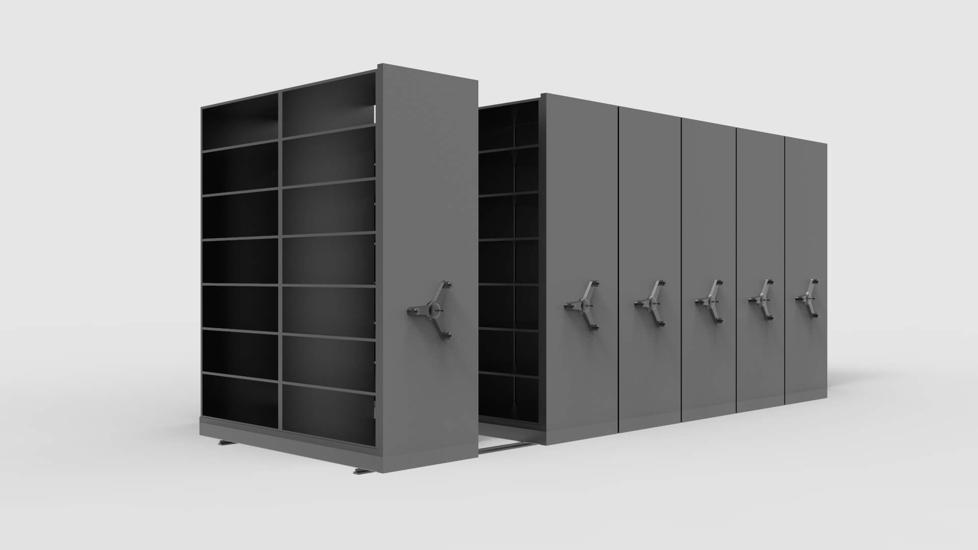 Steel Mobile Shelving System Product