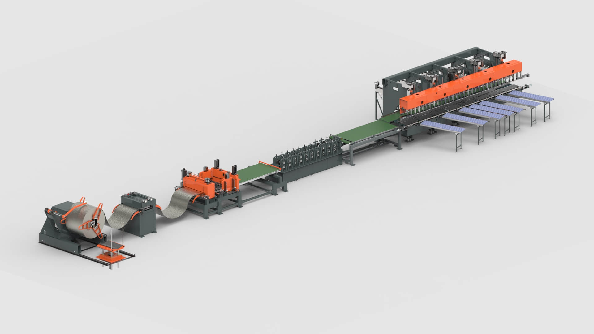 Coil - Roll Forming - Roll Press Brake