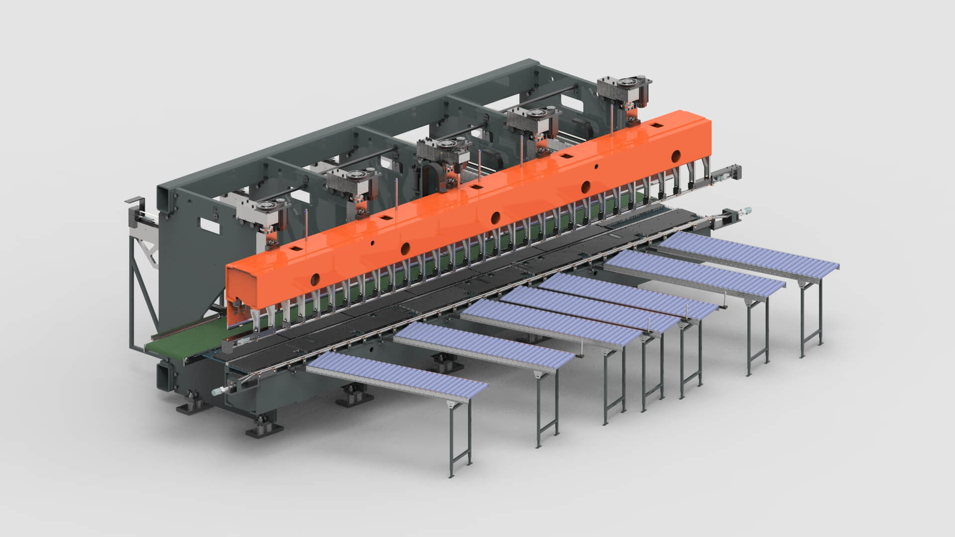 Sheet Metal Production Line for Roller Shutter Boxes