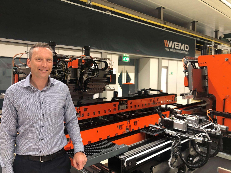 Tom Rodenberg, nieuwe Area Sales Manager bij WEMO Nederland B.V.