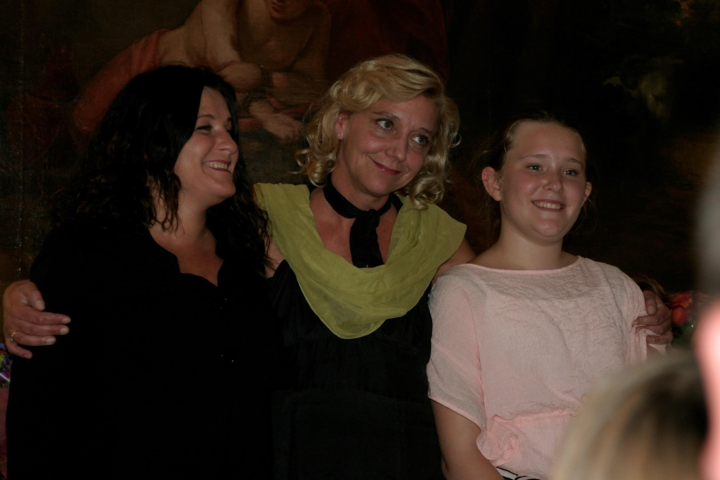 Edelfeldt-pigerne: Skønne støtter