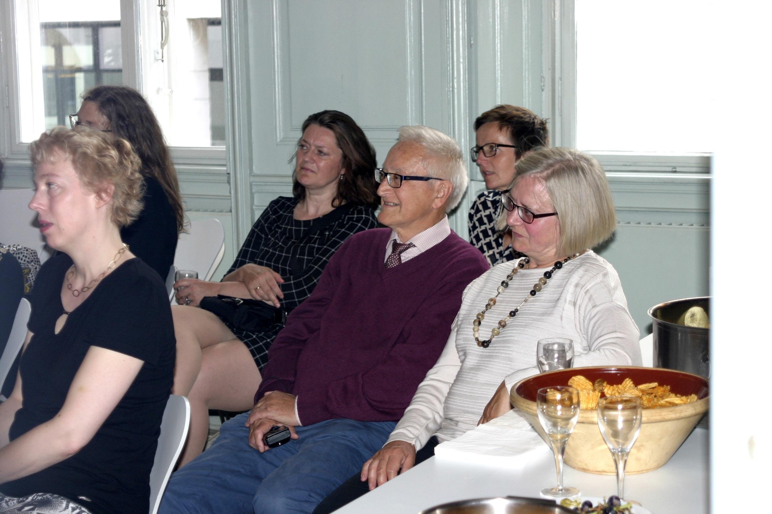 Inge-Helene Fly, Aja og Eigil Kirkegaard, Lise Isager m.fl.