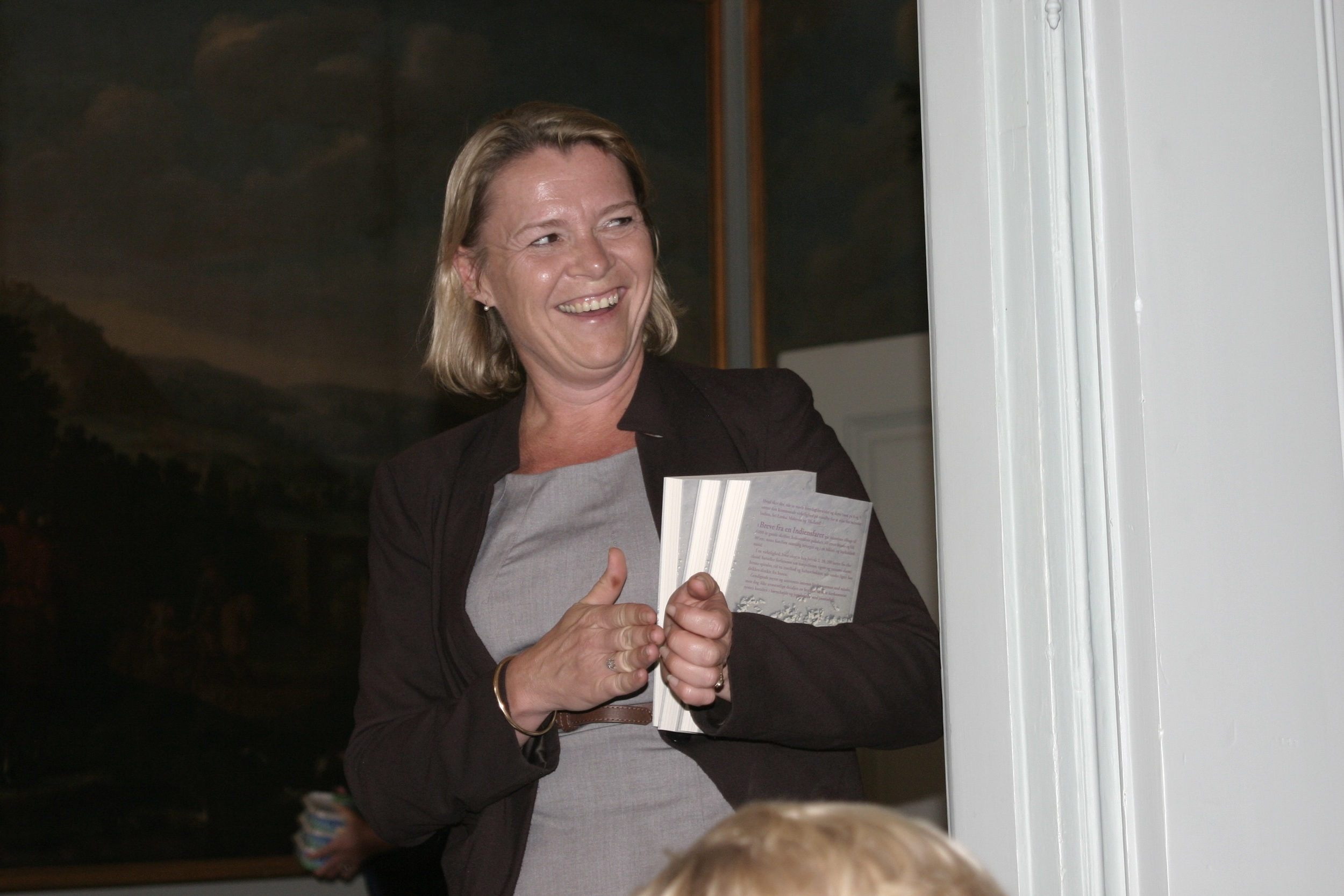 Gitte investerer - thumbs up!