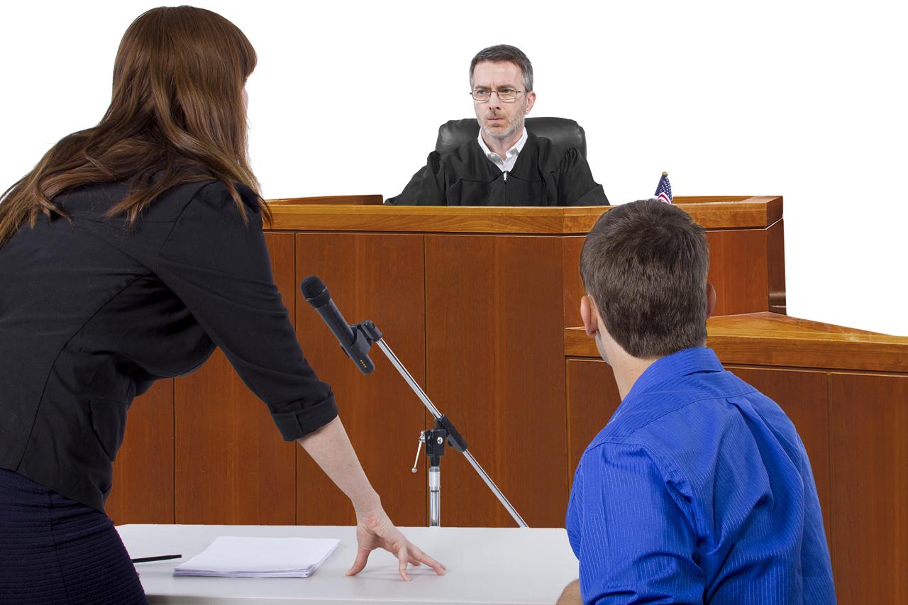 Intermediary in court