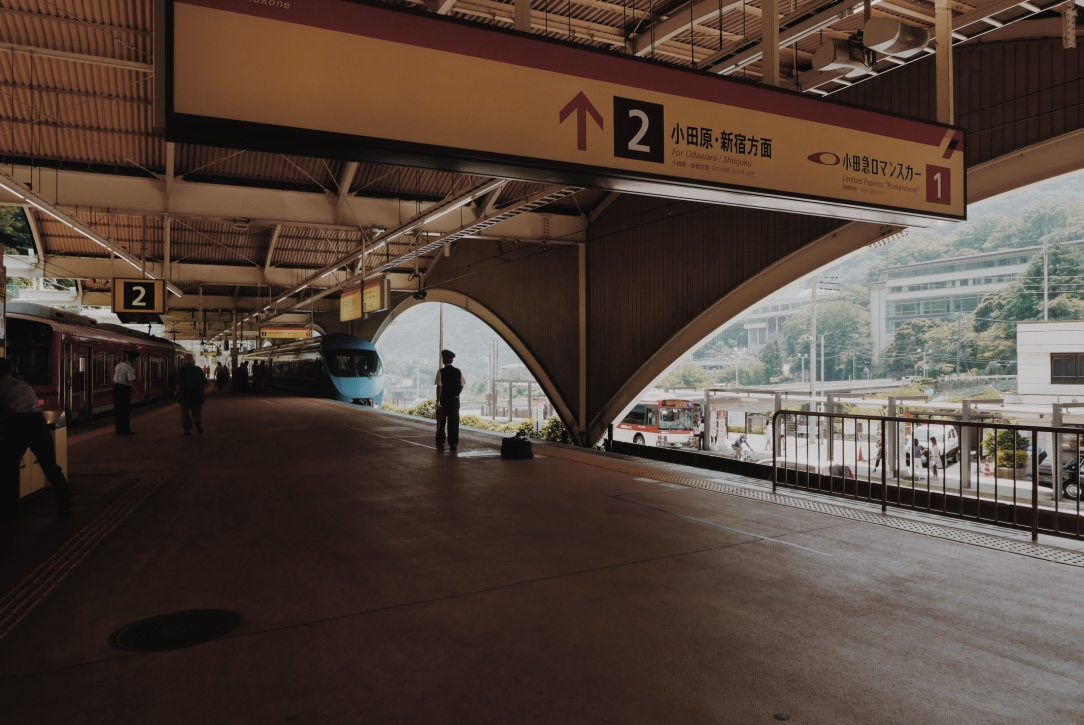 Hakone-Yumoto Station.
