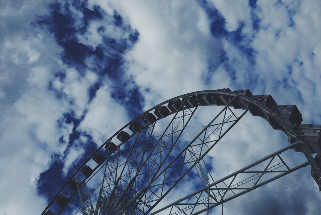 Worth a ride: the Roue de Paris in t he Tuileries gardens.