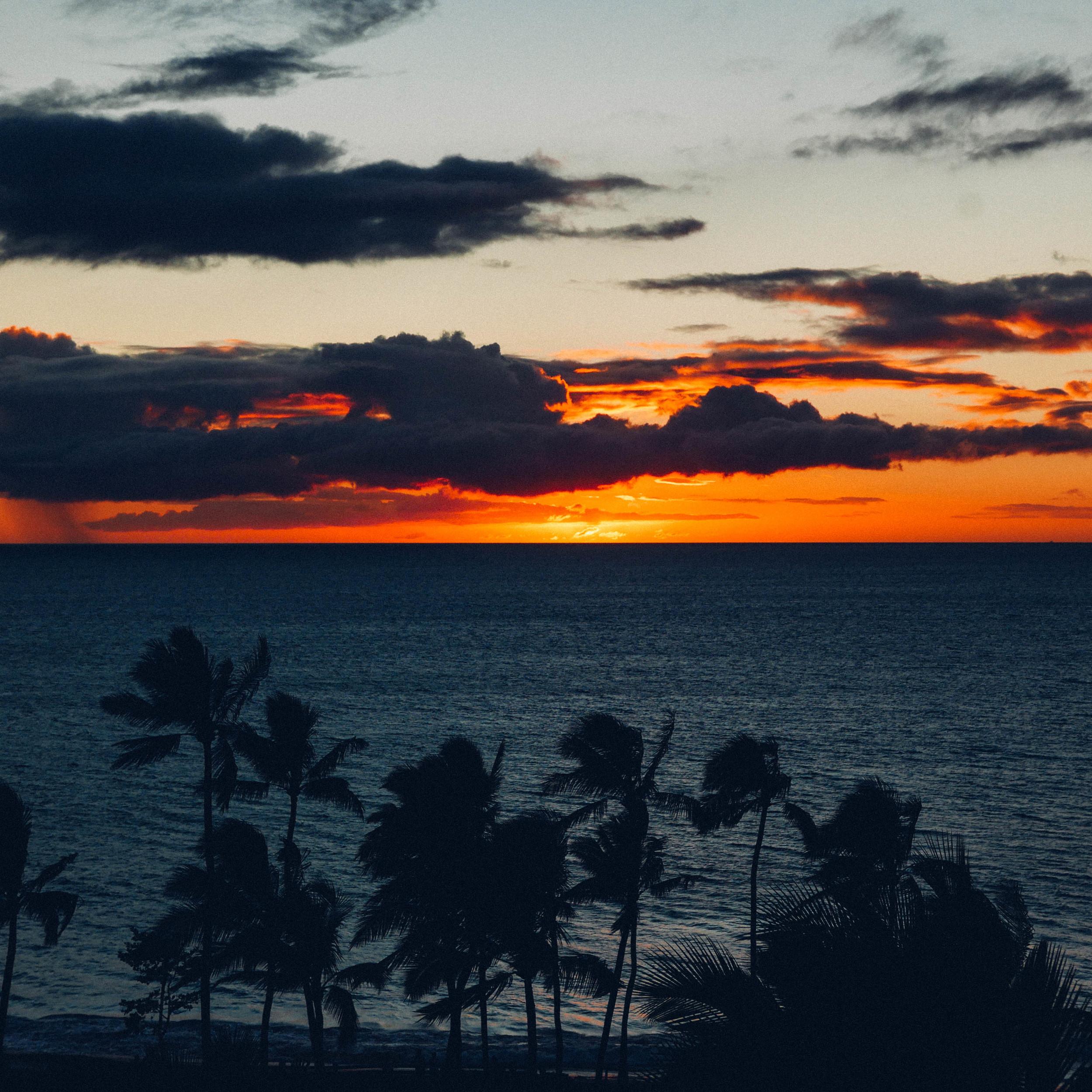 Sunsets: no one does them like Hawaii.