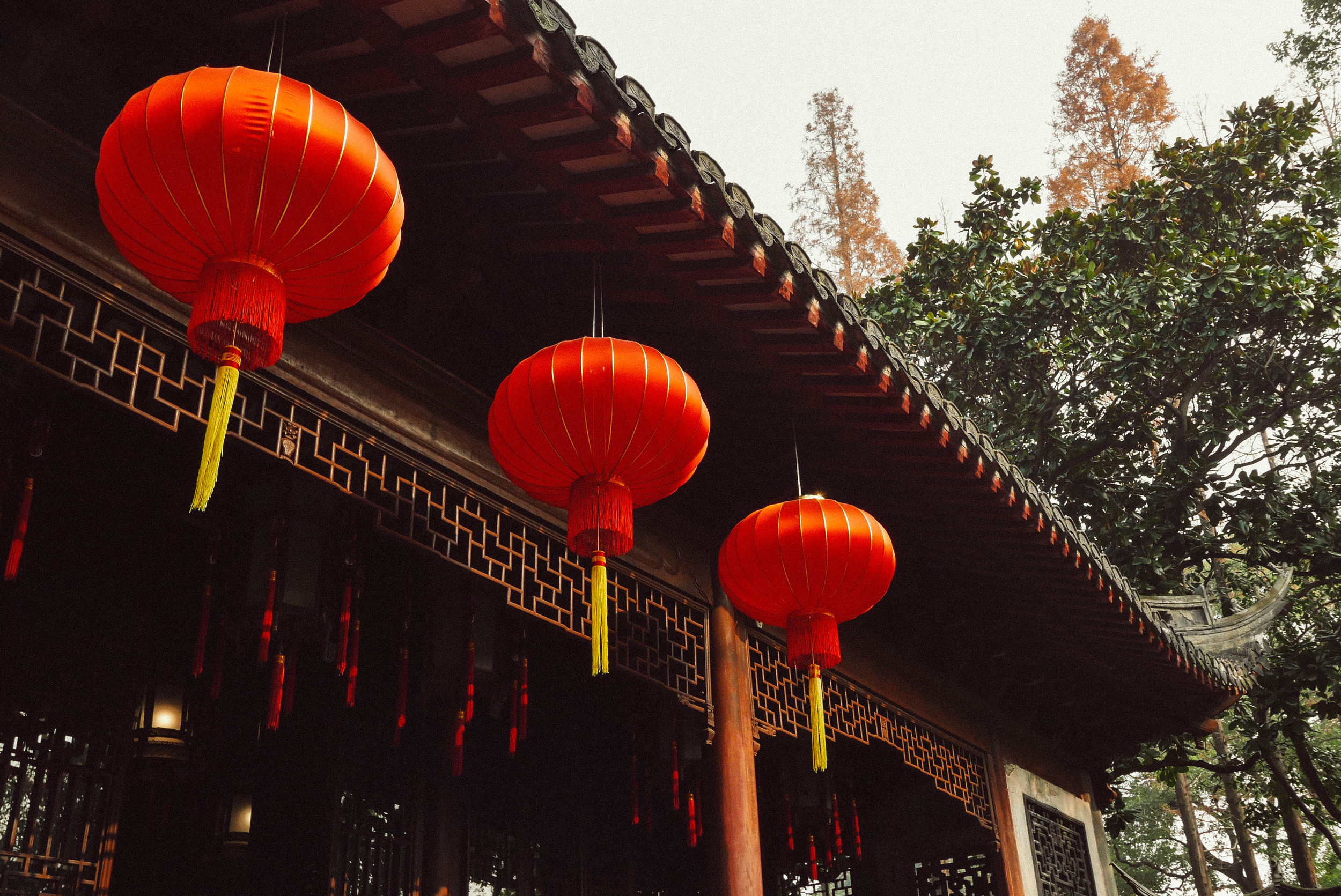 Entering the serene Yu Garden.