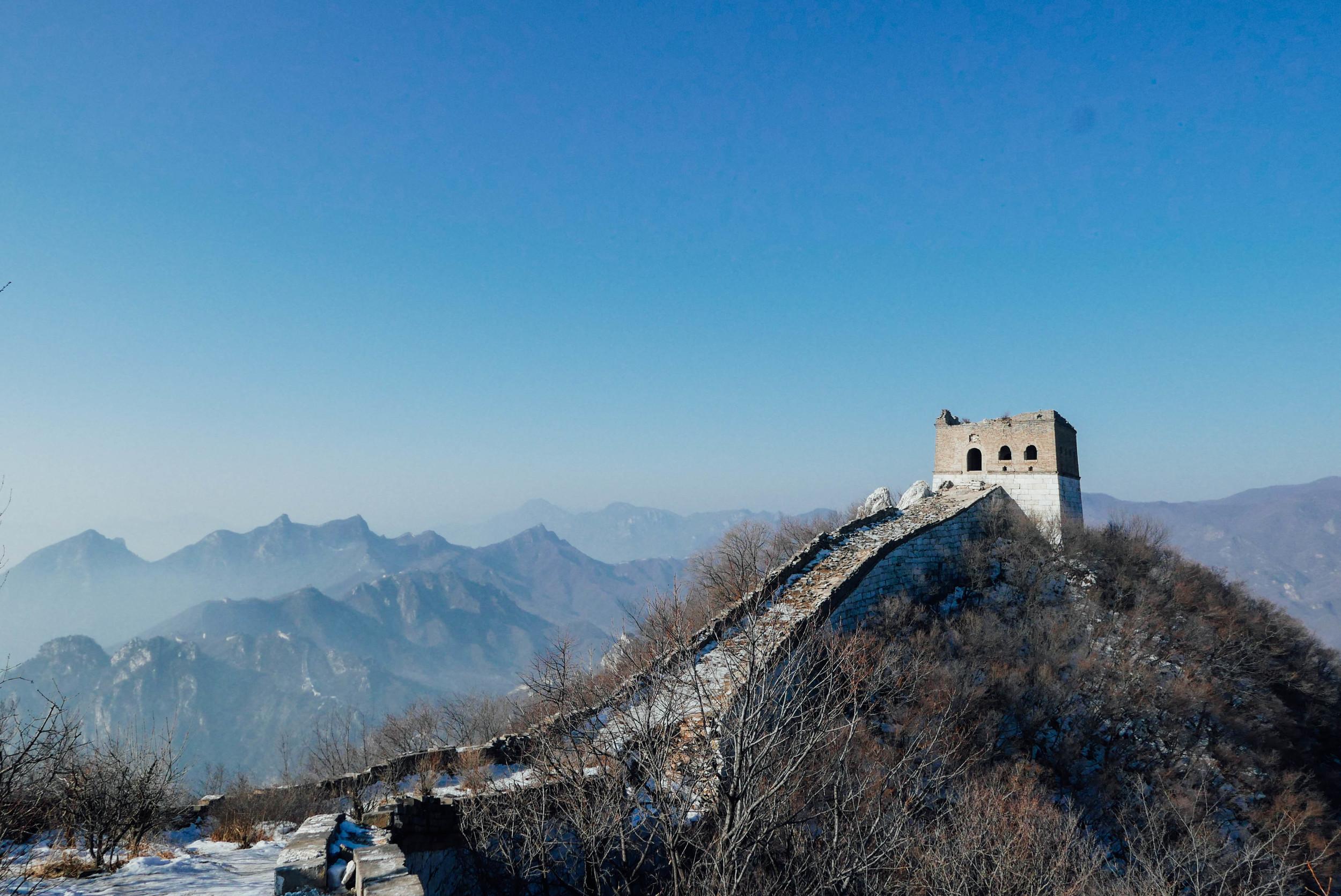 "Jiankou ""Wild"" Great Wall."