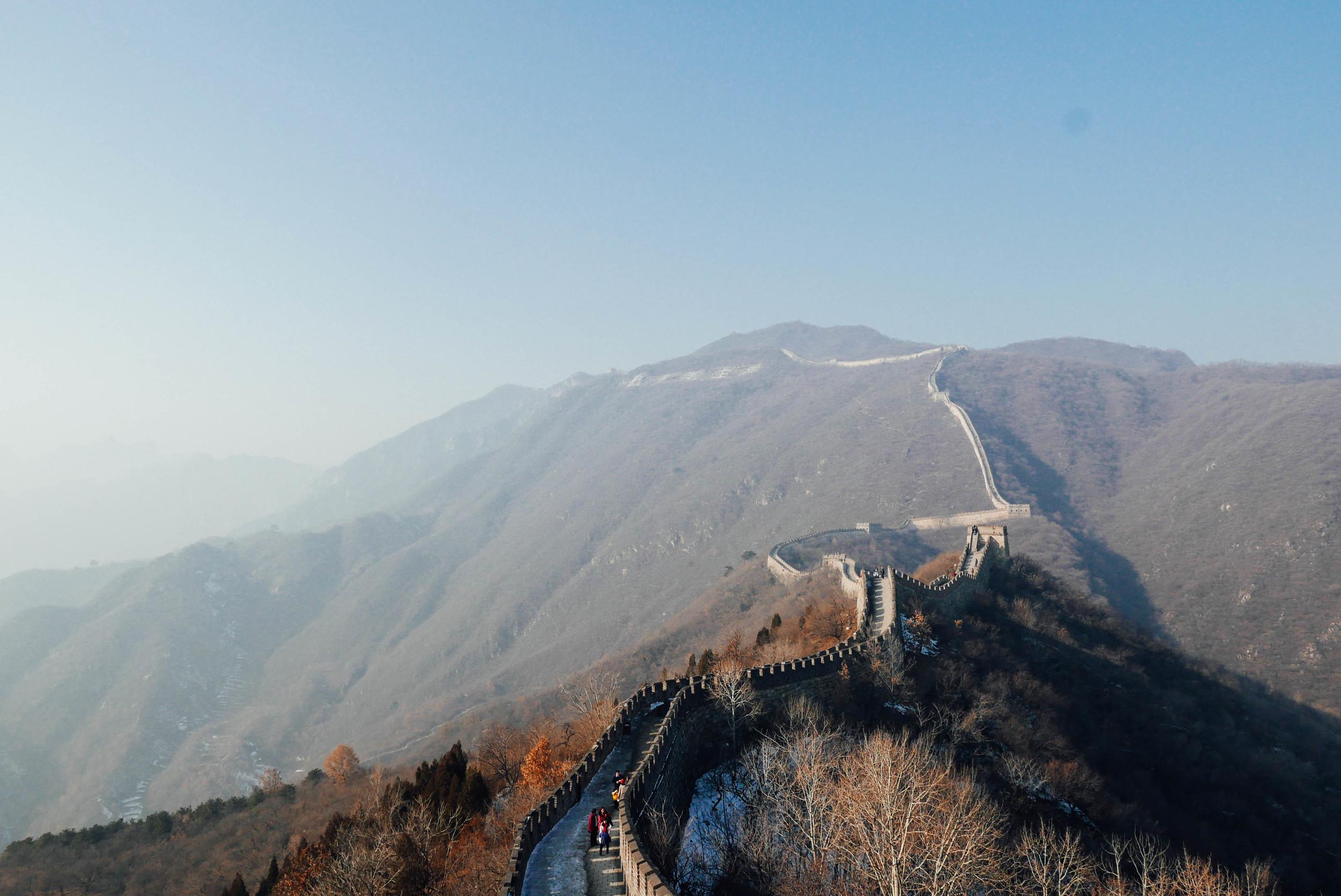 Mutianyu Great Wall.