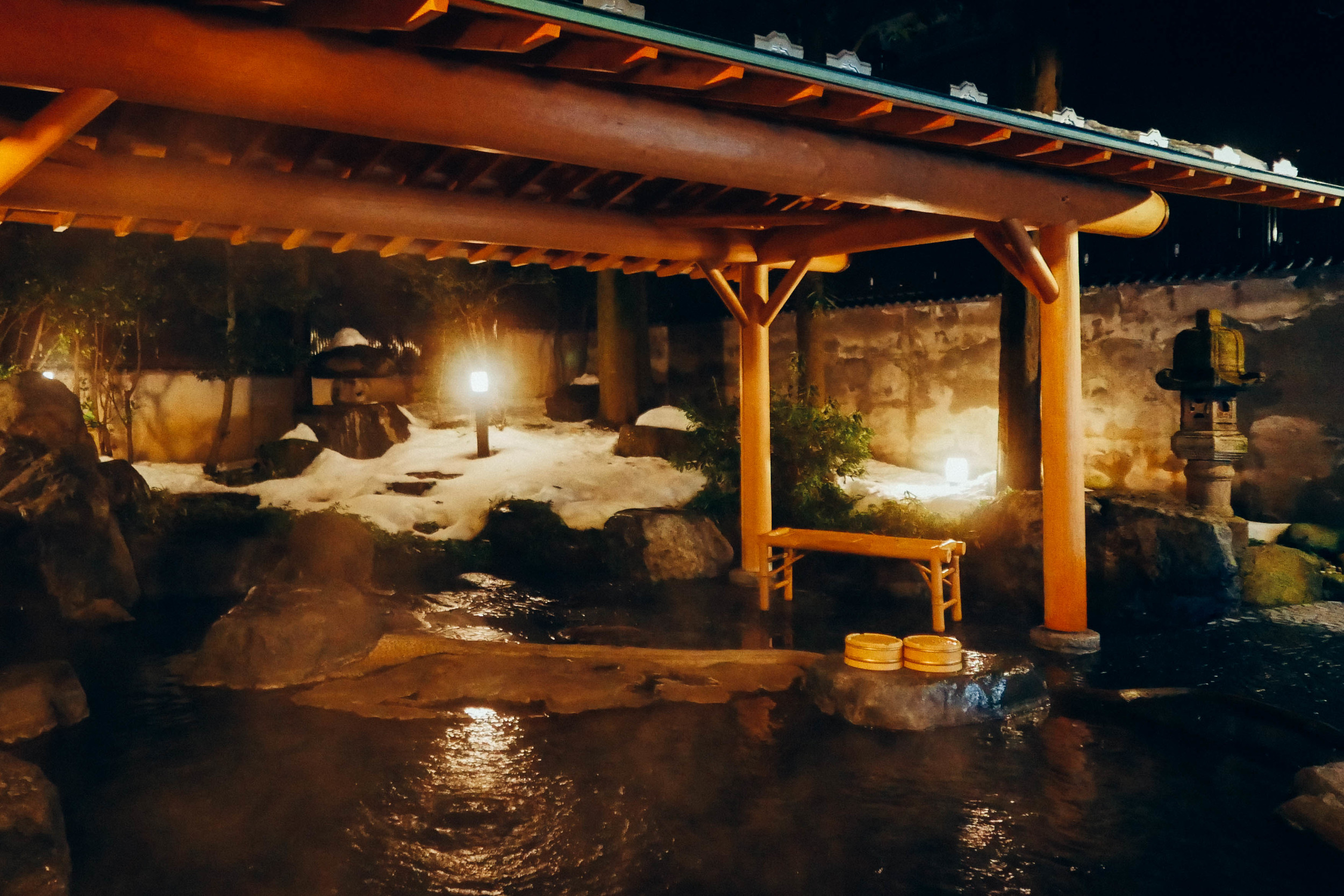 A private onsen for two.