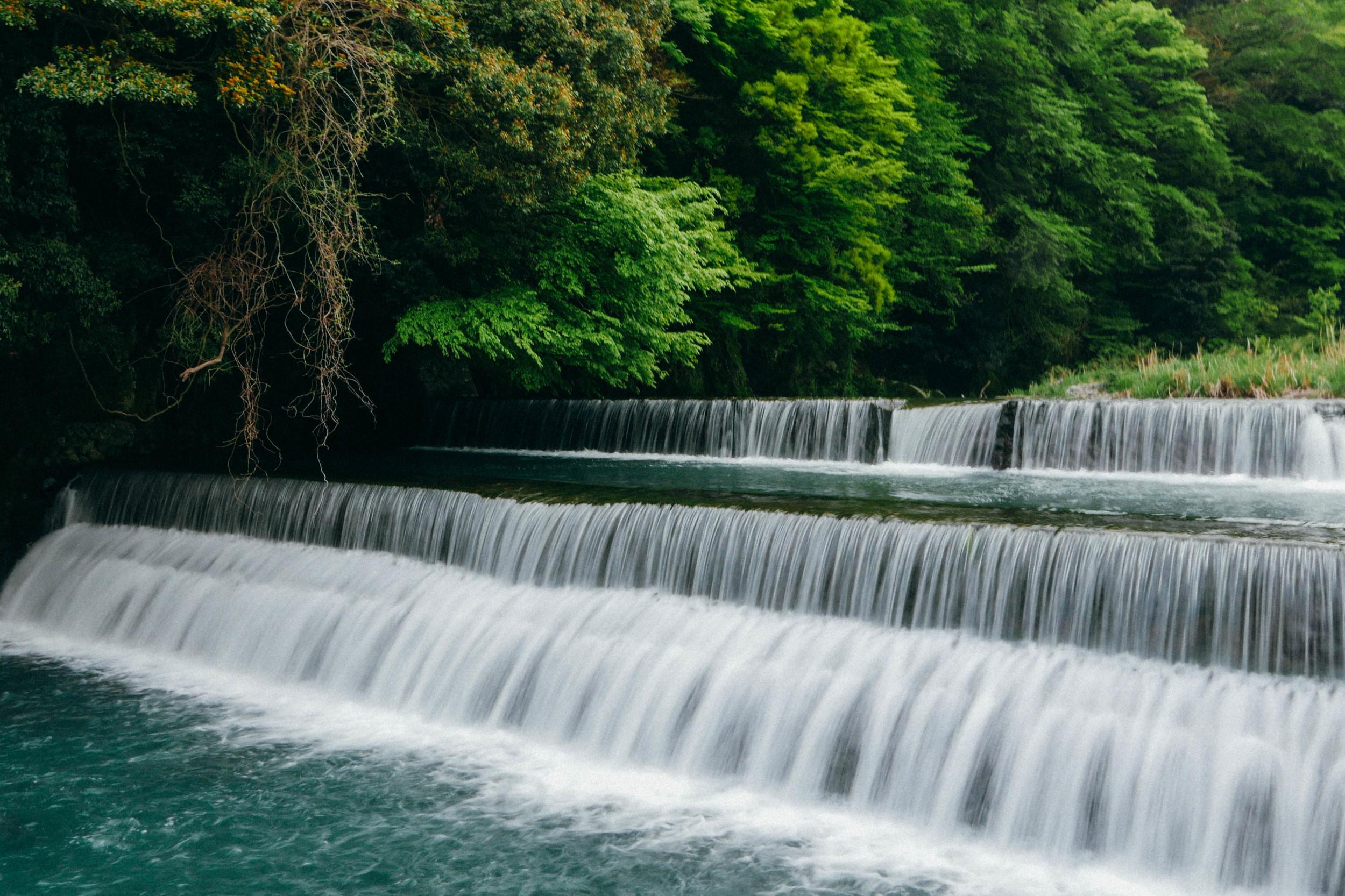 Waterfalls-Hakone-Japan