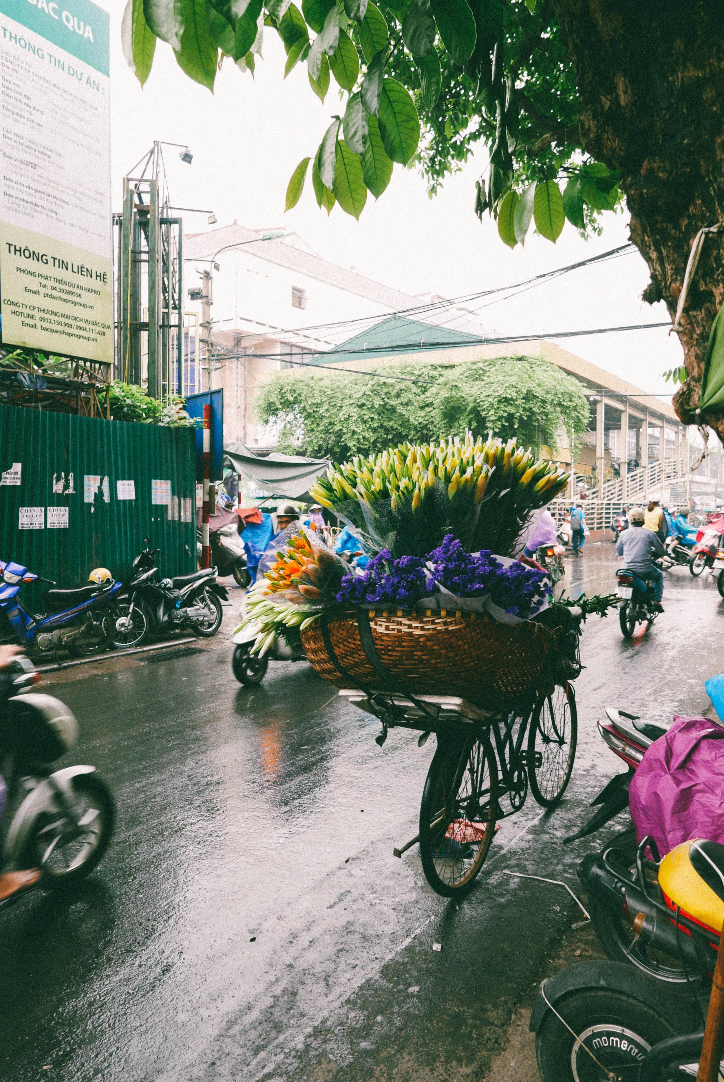 A florist on wheels.
