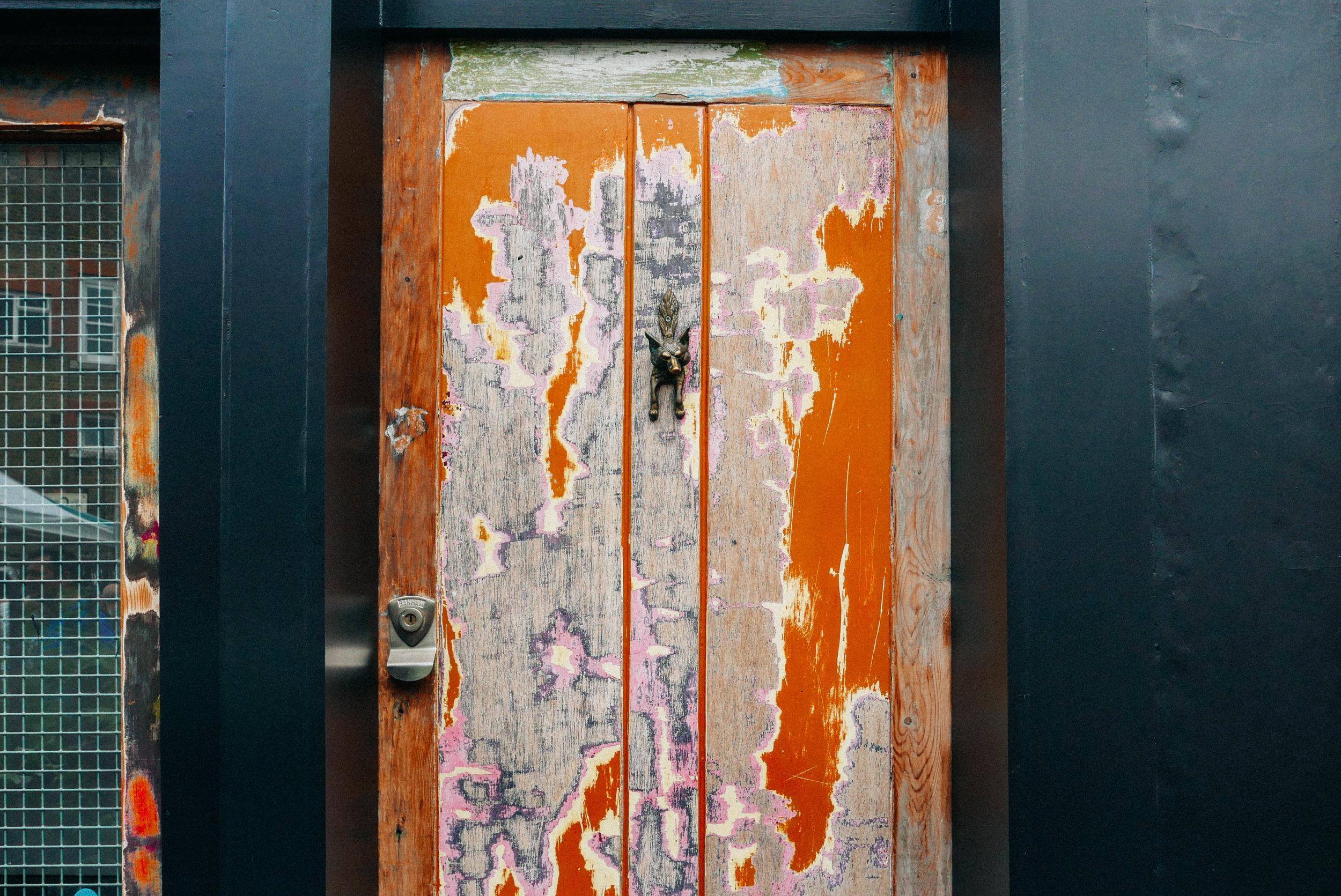 {Front door inspo on Columbia Road}