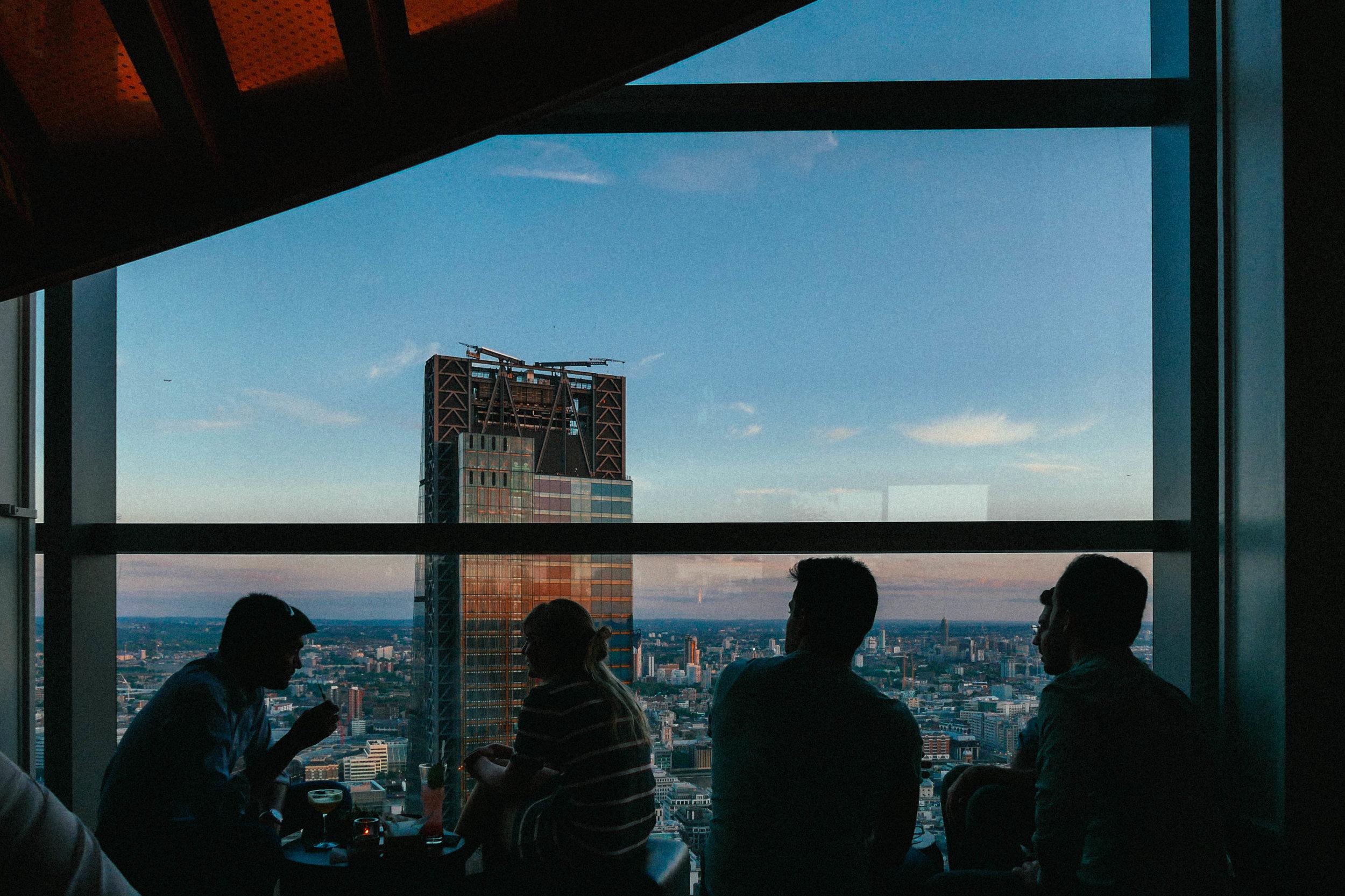 {Skyline views from SUSHISAMBA}