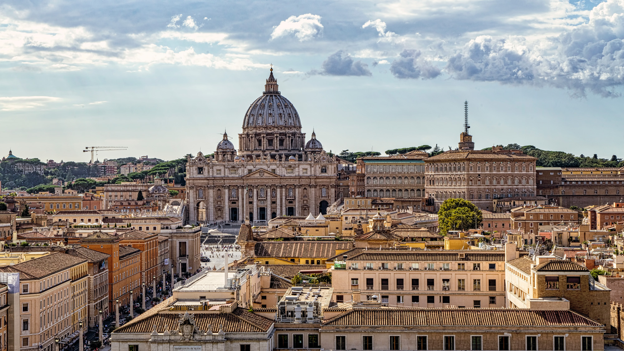 ROOF TOPS OF ROME.