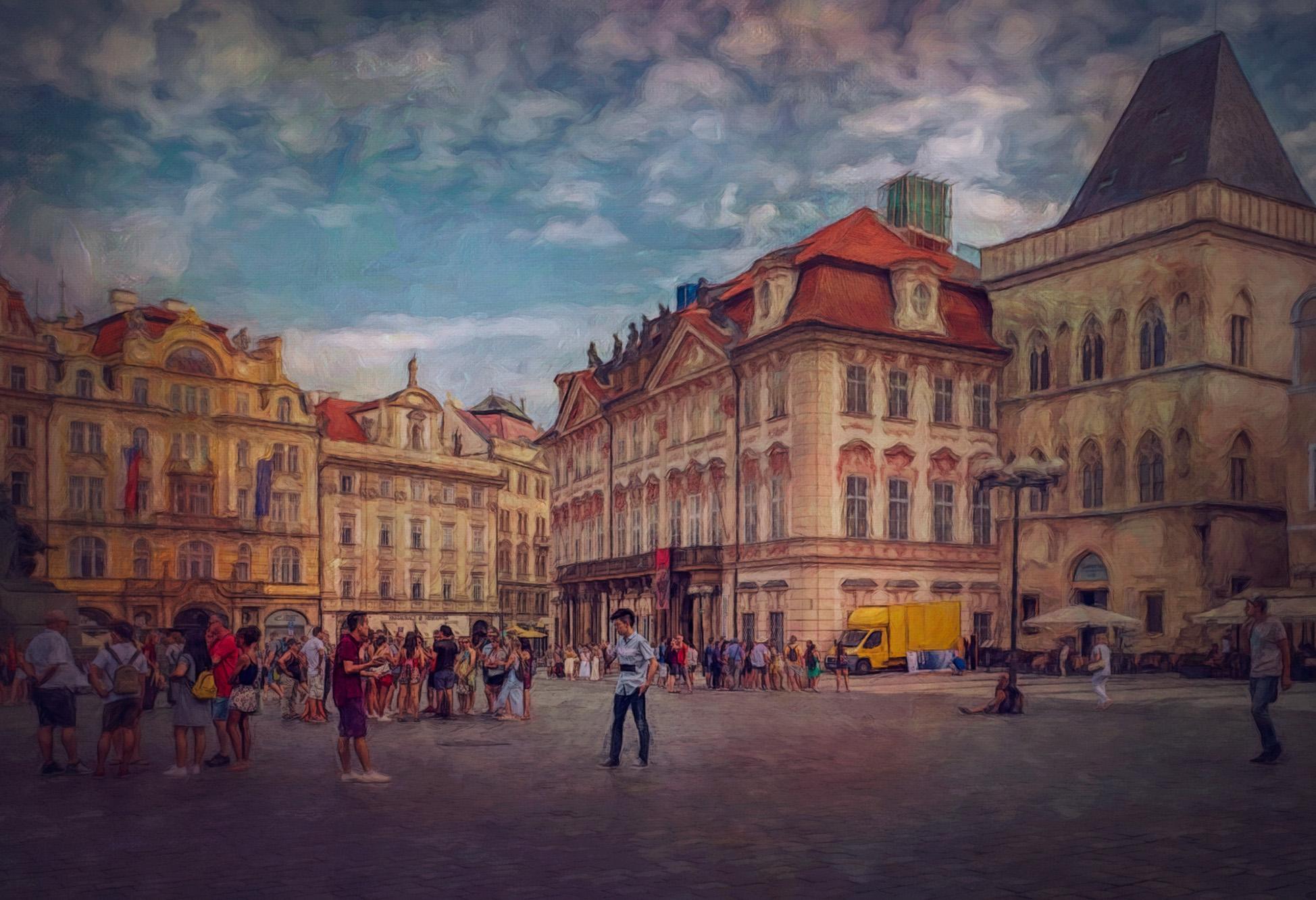 Old Town Square Prague.