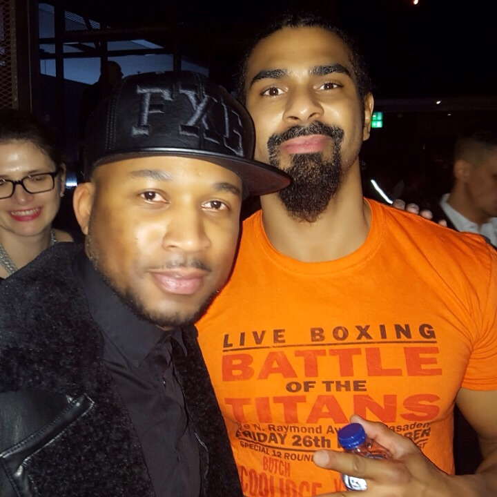 The Former World Heavyweight Champion David 'Hayemaker' Haye