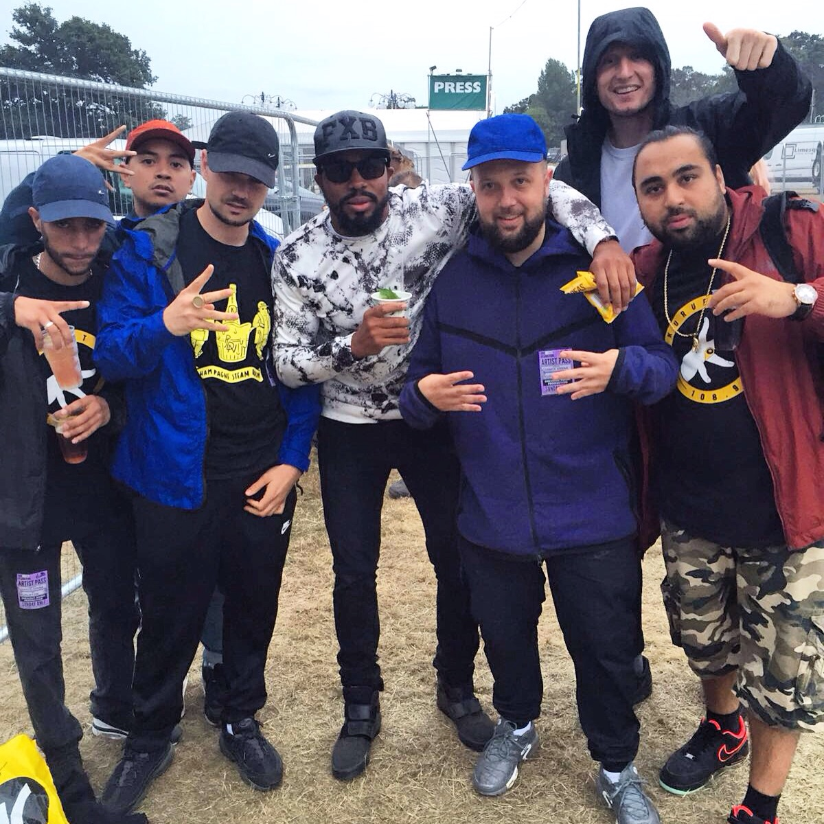 Kurupt FM at The V Festival