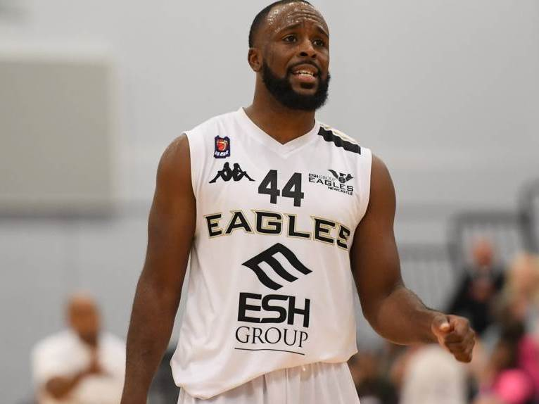 Rahmon Fletcher shows his disappointment as Eagles slip away from title