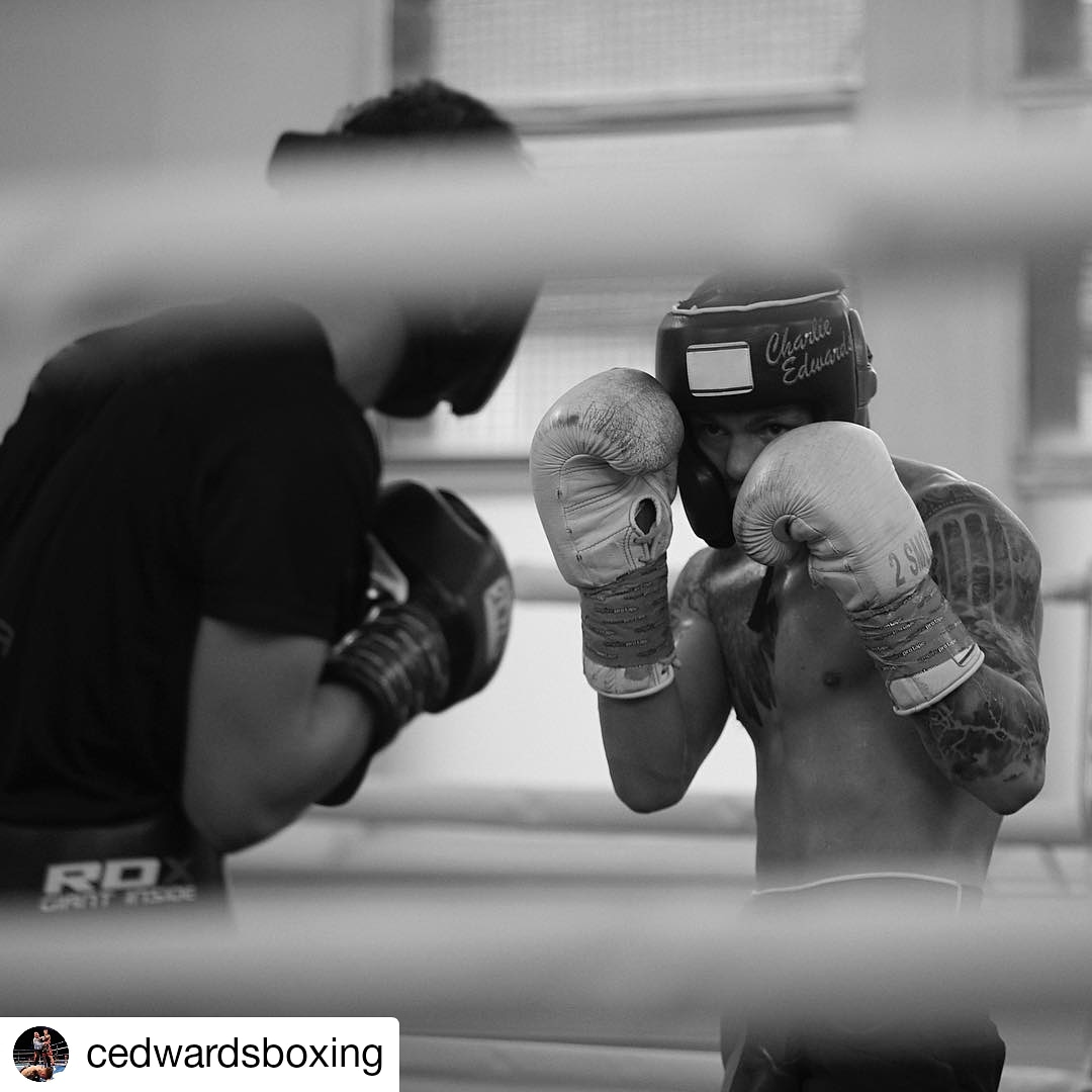 A determined Charlie Edwards has been working hard in the Steel City Gym in Sheffield ahead of his shot at the flyweight WBC
