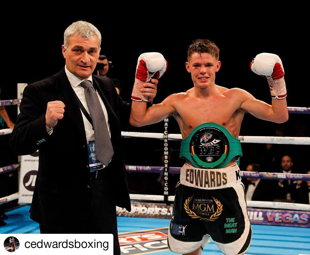 Charlie has experience of being a champ when he won the WBC International back in February 2016