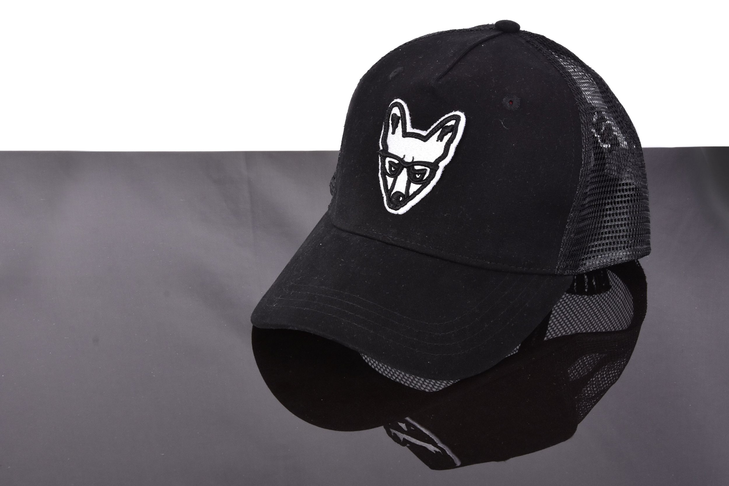New SS19 Trademark Fox Logo Curved Peak Mesh Cap available at £34.99