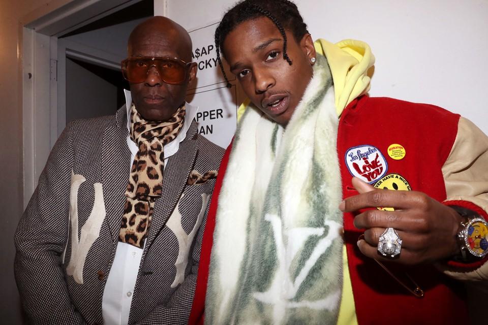 Harlem Style Icon Dapper Dan & ASAP Rocky