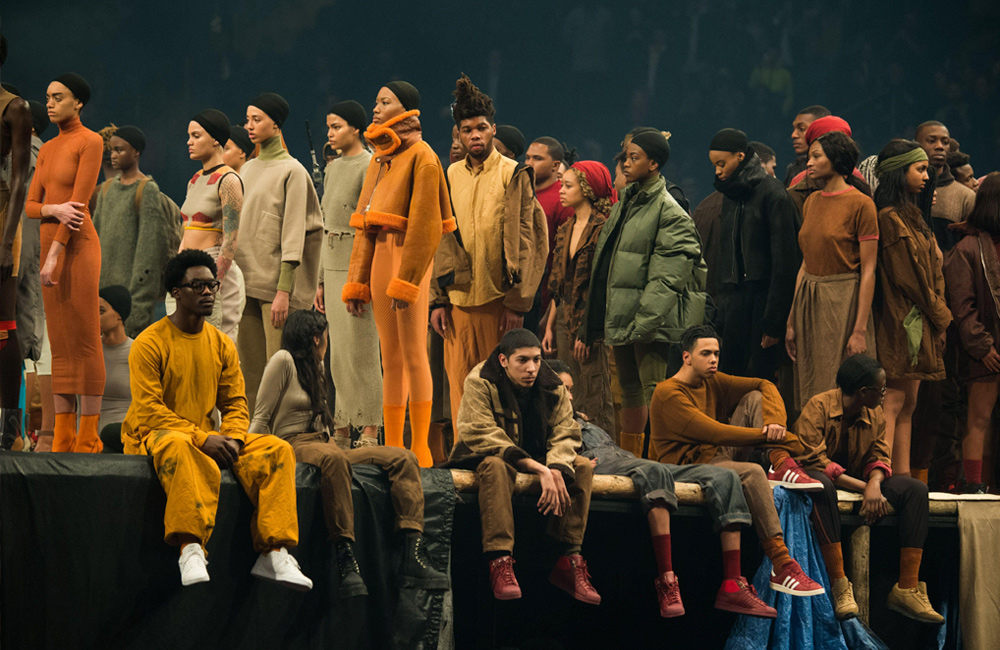 Yeezy show, New York Fashion Week AW16