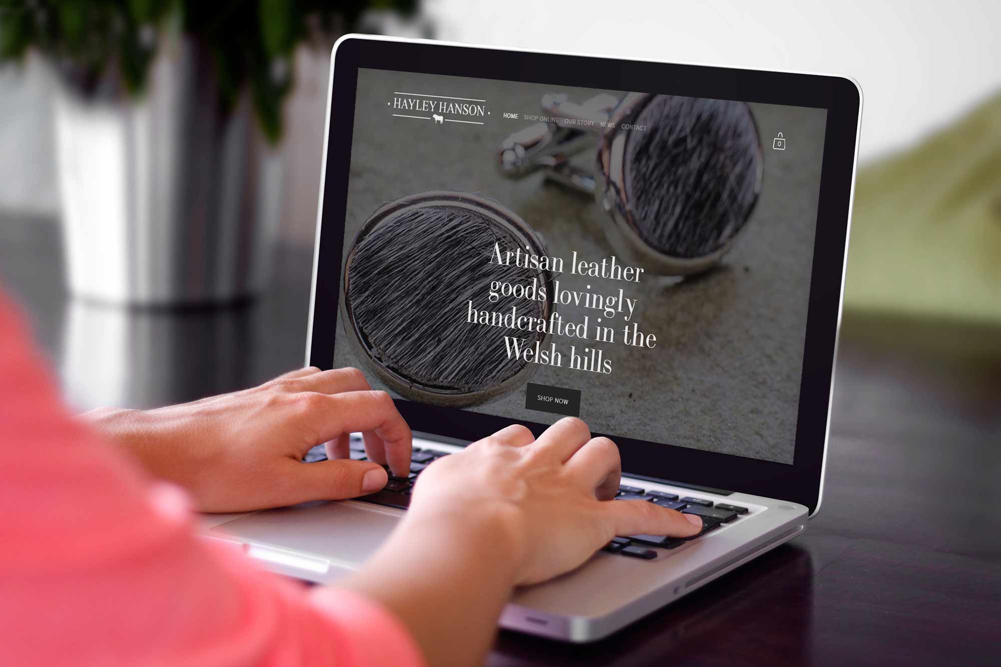 Hayley-hanson-website-on-laptop.jpg