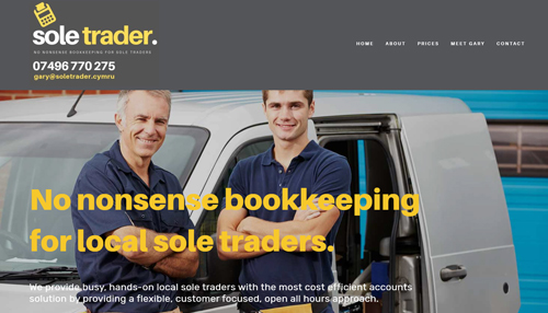 Sole Trader Bookkeeping