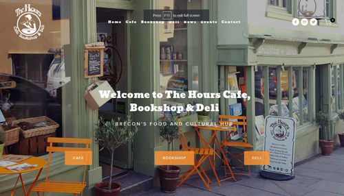 The Hours Cafe, Bookshop & Deli