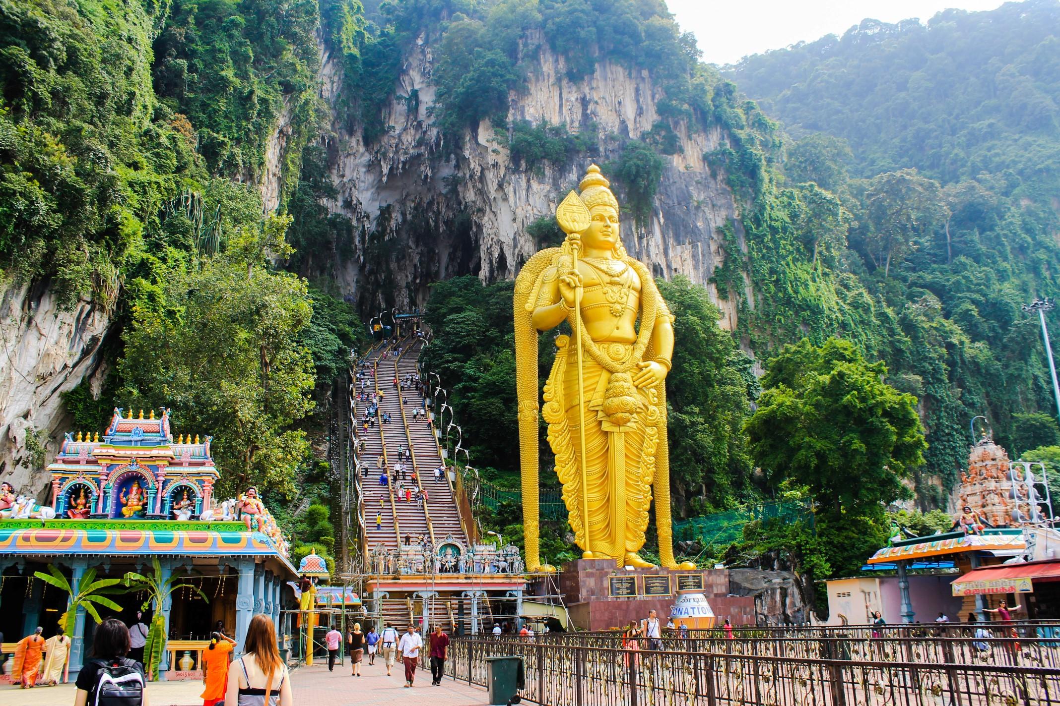 batu caves; kuala lumpur, malaysia.