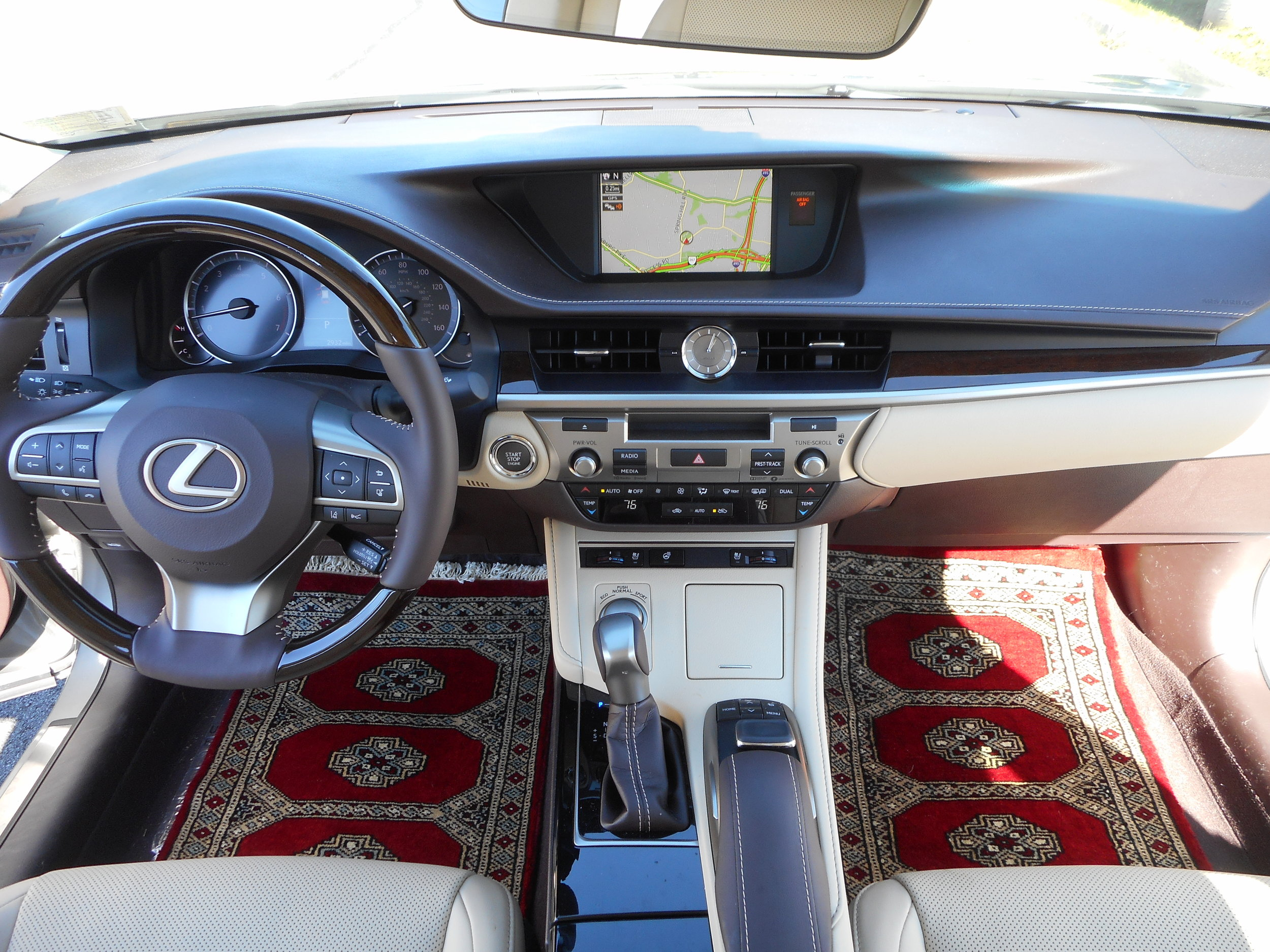 The Tisbury in Lexus ES350