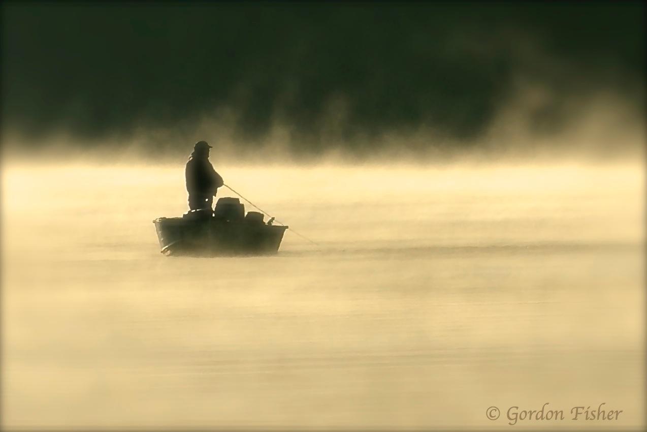 Foggy Morning Fishin