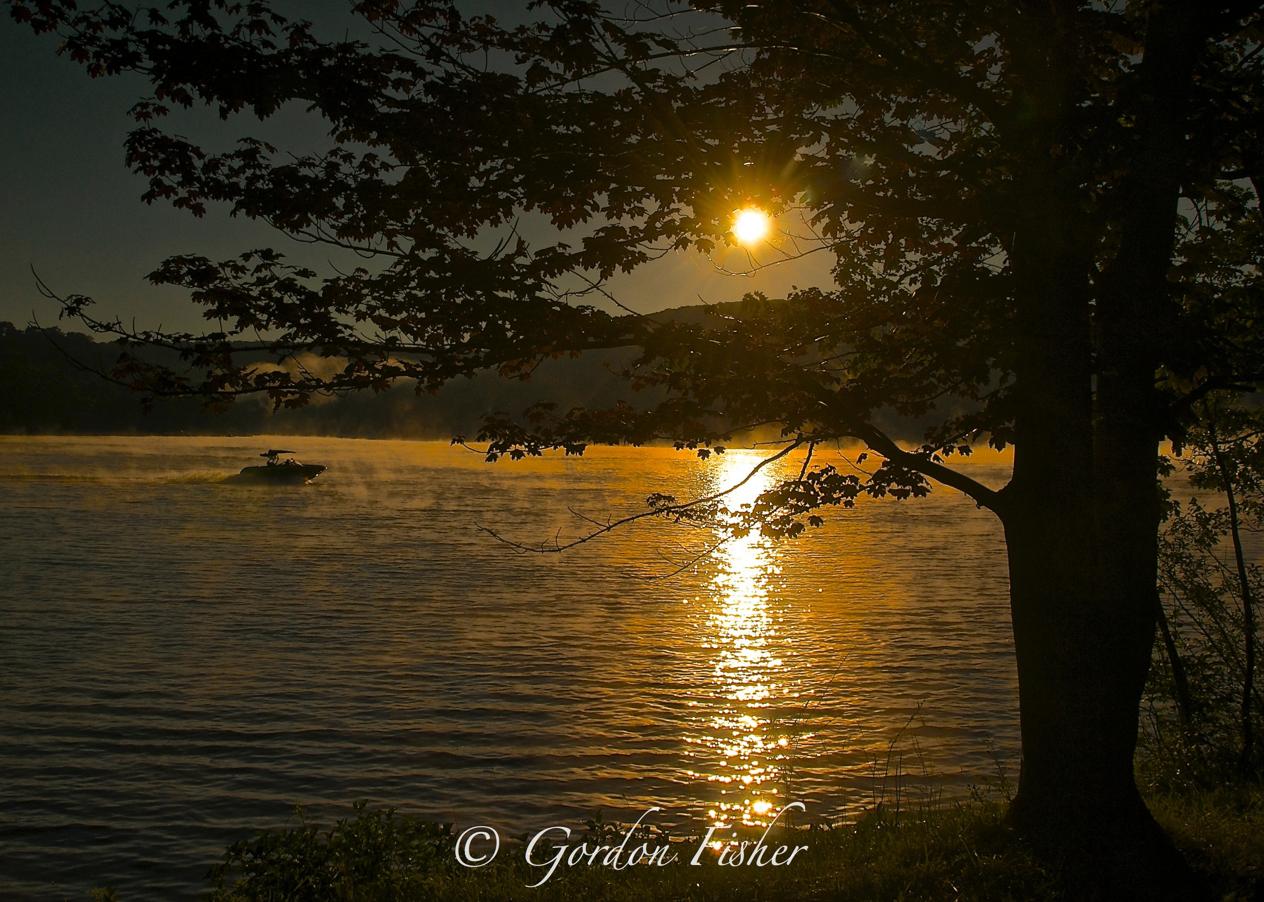 Deep Creek Lake at Sunrise