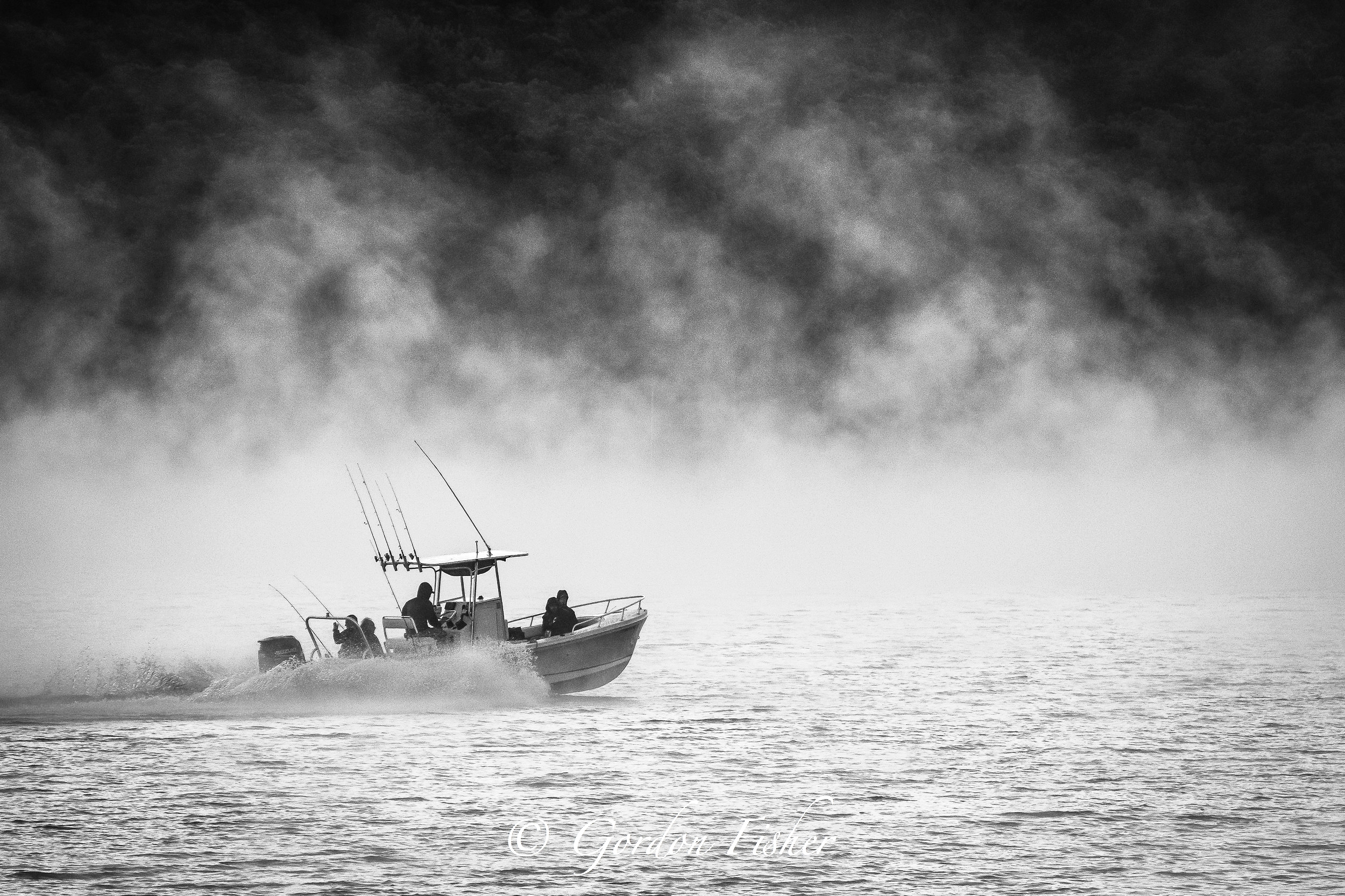 Foggy Morning Fishermen