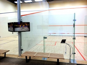McArthur Squash Center - System Design and Installation - On-Site Services - The AV Company