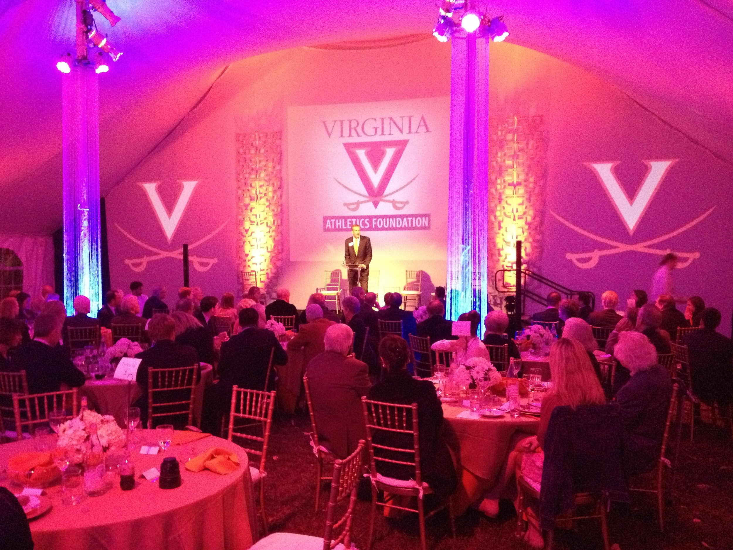 Celebration of Champions UVA - Rental and Staging - The AV Company