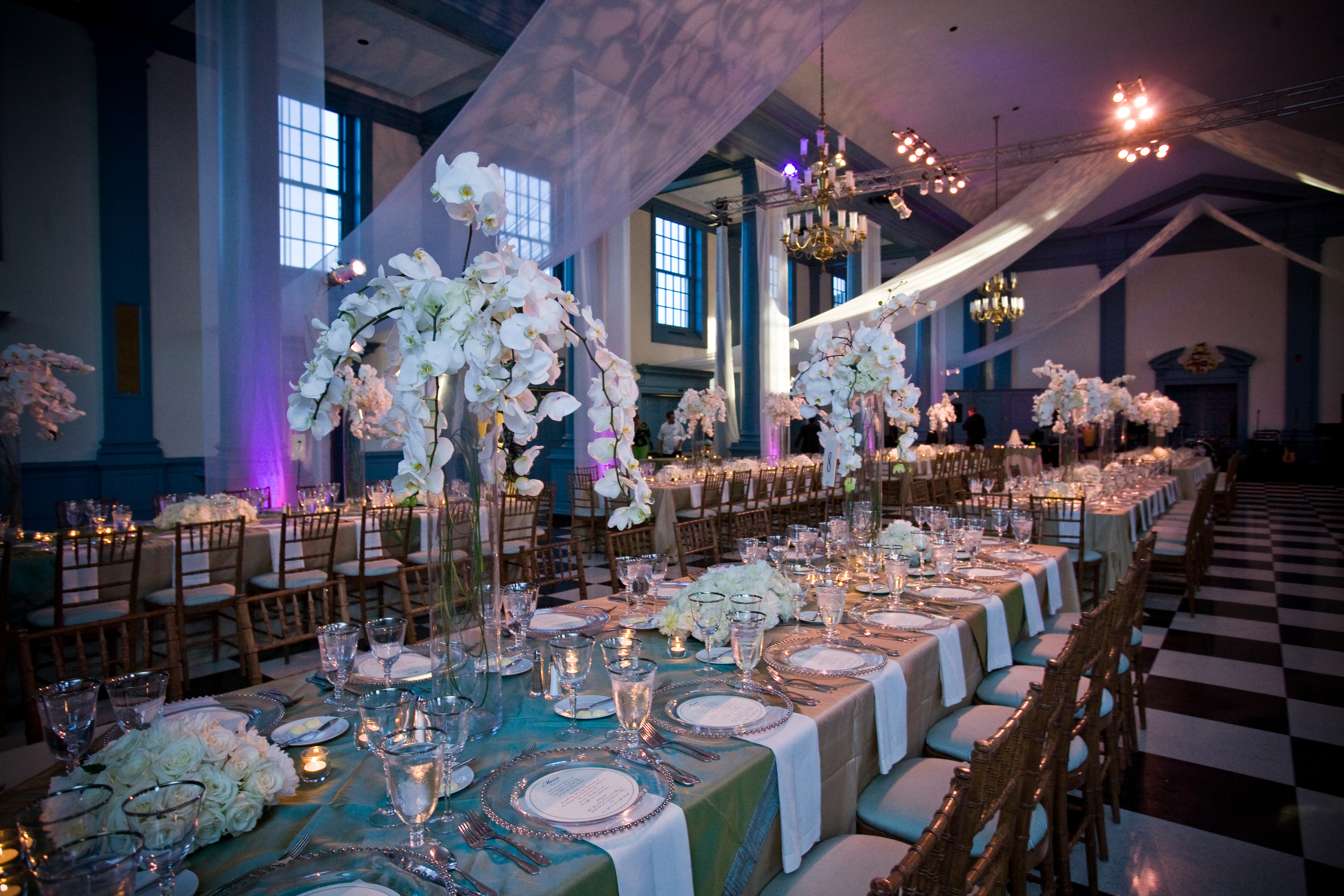 Fabric Projection - Weddings - Rentals and Staging - The AV Company