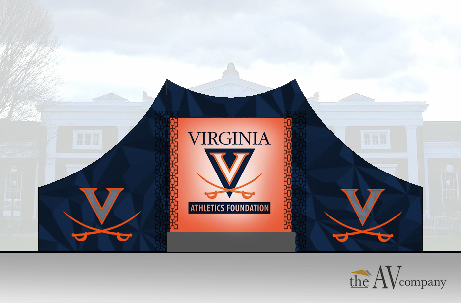 Portfolio . Renderings . Celebration of Champions . UVA